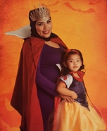 Snow White & The Evil Queen Family Halloween Costume