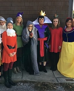 Snow White & the Seven Dwarfs Homemade Costume