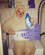 Snuggle Bear Homemade Costume