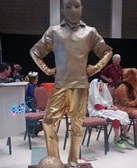 Soccer Trophy Homemade Costume