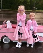 Sock Hop Girls Homemade Costume