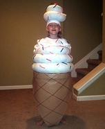 Soft Serve Ice Cream Homemade Costume
