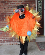 Homemade Solar System Costume