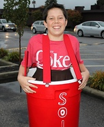 Solo Cup full of Coke Costume