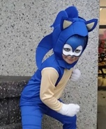 Sonic Homemade Costume
