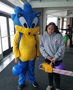 Sonic Homemade Costume