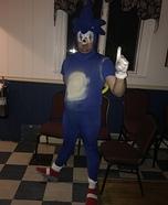 Sonic the Hedgehog Homemade Costume