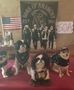 Sons of Anarchy Dogs Homemade Costume