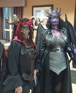 Soul Demon & Dragon Warrior Homemade Costume
