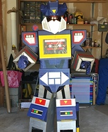 Soundwave Homemade Costume