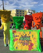Sour Patch Kids Homemade Costume