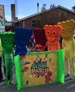 Sour Patch Kids Group Homemade Costume