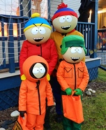 South Park Family Homemade Costume