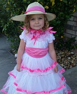 Southern Belle Homemade Costume