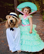 Southern Belle and Southern Gentleman Homemade Costume