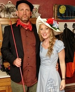 Southern Belle & Chimney Sweep Man Homemade Costume