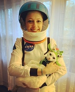 Space Cat Homemade Costume