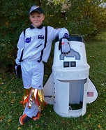 Space Shuttle Homemade Costume