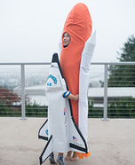 Space Shuttle & Rocket Booster Homemade Costume