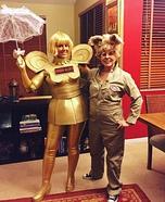 Spaceballs Barf and Dot Matrix Costume