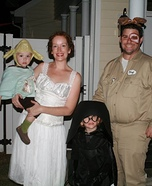 Spaceballs Family Homemade Costume