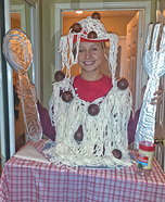 Women's Spaghetti and Meatballs Costume