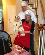 Parent and baby costume ideas - Spaghetti and Meatballs Costume