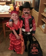 Spanish Dancer and Sheriff Costume