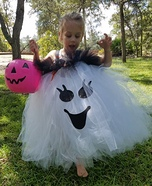 Sparkling Ghost Homemade Costume