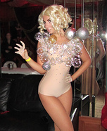 Sparkly Bubble Gaga Costume