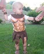 Homemade Spartacus Costume