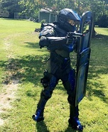 Spartan Military Police Captain Homemade Costume