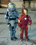 Halo Spartan & Ironman Homemade Costume