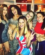Spice Girls Homemade Costume