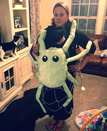 Spider Baby Carrier Homemade Costume