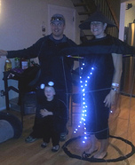Spider, Fly and Bug Zapper Family Costume