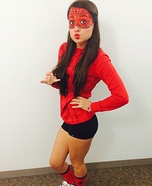 Spider Man Girl Homemade Costume