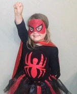 SpiderGirl Homemade Costume
