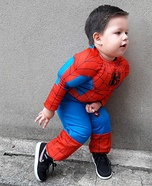 Spiderman Baby Costume