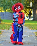 Spiderman Cowboy Homemade Costume