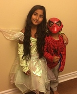 Spiderman & Tinker Bell Costumes
