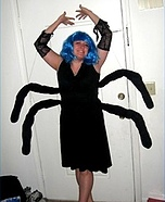 Homemade Spider Woman Costume