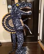 Spinosaurus Homemade Costume