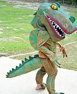 Spinosaurus Dinosaur Homemade Costume
