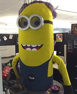 Split-Personality Minion Homemade Costume