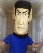 Spock Homemade Costume