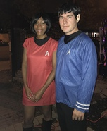 Spock and Uhura Homemade Costume