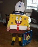 Sponge Bob Homemade Costume