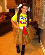 Sponge Bob Sassy Pants Homemade Costume