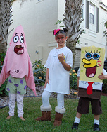 Spongebob Crew Homemade Costumes